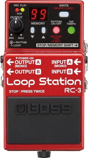 Boss-RC3-Loop-Station